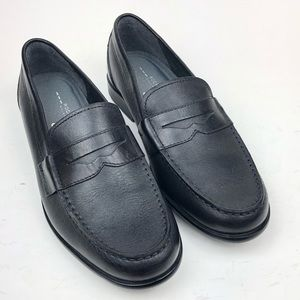 Rockport | Walkability Black Loafer Penny Shoes